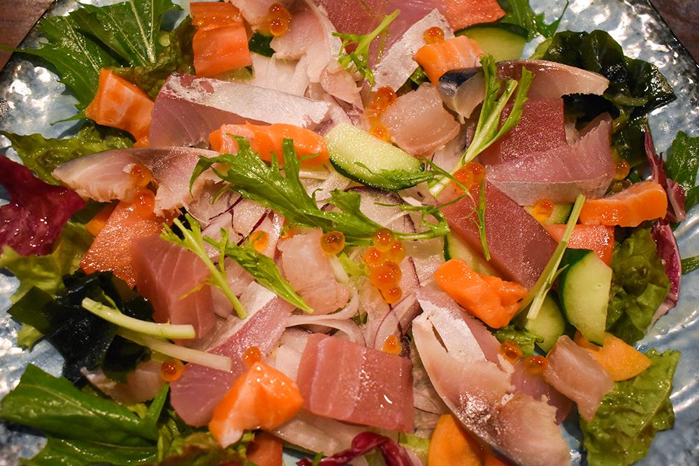 海鮮彩りサラダ