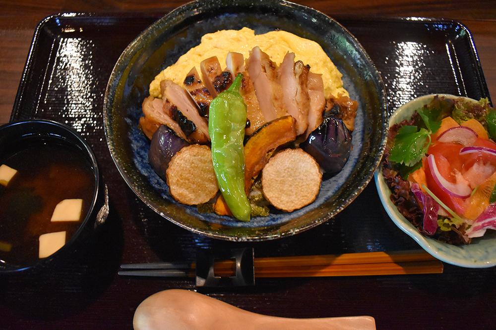 宮崎鶏の西京焼丼 ¥1,100